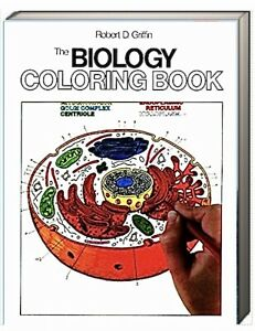 The Biology Coloring Book by Robert D. Griffin (Paperback)