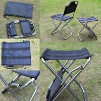 Folding Fishing Stool Backpack Seat Chair Portable Camping Outdoor BBQ Chair