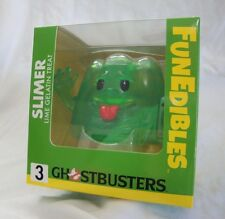 Ghostbusters FunEdibles Slimer Lime Gelatin Treat Vinyl Figure Toy New Sealed