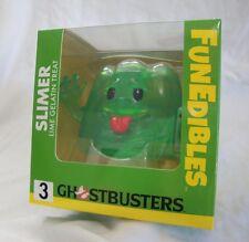 Ghostbusters FunEdibles Slimer Lime Gelatin Treat Vinyl Figure Toy New Sealed
