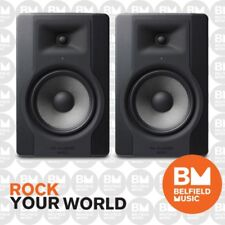 "M-Audio BX8 D3 Powered Studio Monitors Speakers 8 Inch 8"" Pair - Brand New"