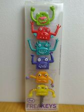 Fred Freakeys Monstrously Fun Key Fob Toppers Little Monster Colour Covers Caps