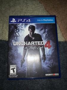 Uncharted 4: A Thief's End PS4 [Sony PlayStation 4]