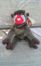 000 Vintage Ty Beanie Baby Cheeks Ape Monkey Hang Tag