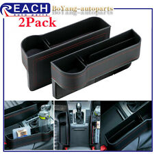 2x New Car Seat Crevice Box Storage Cup Holder Organizer Auto Gap Pocket Stowing Fits Suzuki Equator