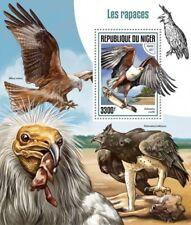 Niger 2017 Birds of prey s/s-S170142