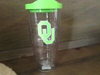 Tervis Oklahoma University Neon Green Emblem Individual Tumbler with Lime Lid
