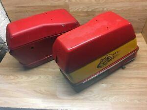 Honda GoldWing GL1200 1985 Left & Right Pair Pannier Boxes