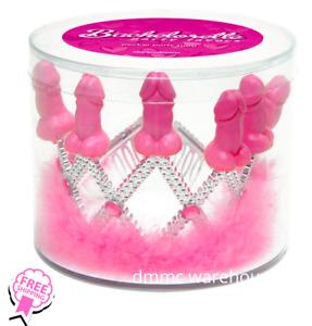 Pecker Party Pink Tiara Bachelorette Party Bridal Party
