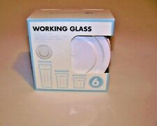 ARC International Luminarc WHITE Working Glass Lids Set 6 (fits 14, 21, 24 oz.)