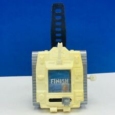Tomy wind up watch tank video game Japan vtg 1980s wristwatch military toy space