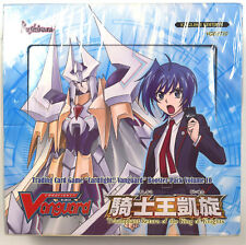 Cardfight Vanguard Triumphant Return of the King of Knights Sealed Box VGE-BT10
