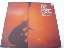 U2 Under A Blood Red Sky - PORTUGAL LP - 3rd release - MISSPRESSED labels (both)