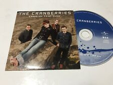 CRANBERRIES SPANISH CD SINGLE SPAIN 1 TRACK THIS IS THE DAY CARD SLV INDIE ROCK