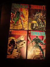 Terminator #1 2 3 4 Dark Horse 1990 Original Mini Series Comic Book Set 1-4