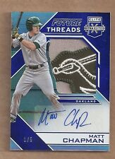 Matt Chapman 2016 Elite Extra Edition Future Threads 1/5 SICK PATCH ROOKIE AUTO