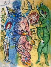 Marc Chagall, Le Cirque one plate 1967, Hand Signed Lithograph