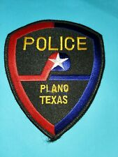 PLANO, TEXAS POLICE DEPARTMENT PATCH