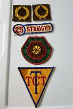 VINTAGE Gun Patch Lot Trap, 25 Straight, TXT, Tri-County, 5 patches, hunting