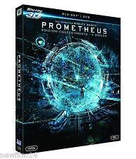 PROMETHEUS 3D + 2 BLU RAY + DVD NUEVO [ SIN ABRIR ] EDICION COLECCIONISTA RIDLEY