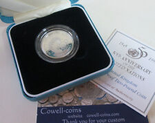 UK 1995 Royal Mint United Nations 50th Aniv £2 Two Pound Silver Proof Coin Box/C