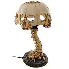 Atrocity Skull Desk Lamp Table Light Gothic Horror Gift 37.5cm