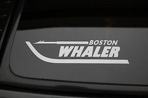 Boston Whaler Sticker Vinyl Decal  CHOOSE SIZE & COLOR! Fishing Boat Window V162