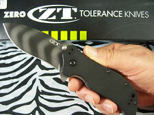 ZERO TOLERANCE usa TIGER STRIPE Spring Assisted knife Ken Onion design ZT 0350TS