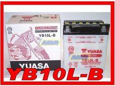 0651135 BATERÍA DE LA MOTOCICLETA Y SCOOTERS YB10L-B YUASA PIAGGIO GILERA YB10LB