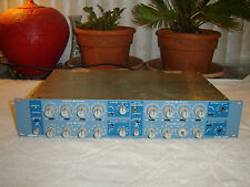 Orban 642B, Blueface XLR in/out, Stereo 4 Band Parametric Equalizer, Eq, Vintage