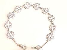 Madonnen Armband Doppelseitig  Religös 925 Silber