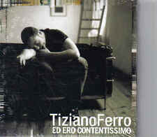 Tiziano Ferro Ed Ero Contentissimo cd single Sealed