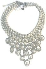 WHITE HOUSE BLACK MARKET STATEMENT FAUX PEARL NECKLACE-NEW W/ TAGS