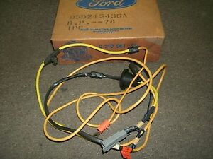 NOS 1975 MERCURY MONARCH TRAILER LAMP WIRE & PLUG