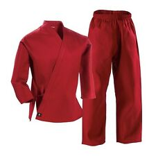 Red Complete Student Martial Arts Uniform - Great for Taekwondo & Karate