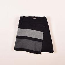 Karen Millen Damen Rock Skirt Kleid Gr.38 Wolle Schwarz, 53890