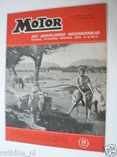 MO5451-COVER JEAN PAULSEN BSA,KNMV HULDIGING 1954,SALON MILANO,CECCATO,FERRARI,R