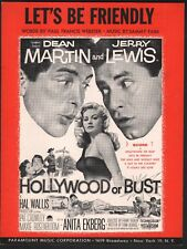 Let's Be Friendly 1956 Hollywood or Bust Dean Martin/Jerry Lewis Anita Ekberg