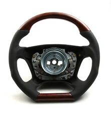 DTM Style airbag volante airbag volante raíz madera cuero mercedes w140