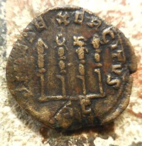 PHILIP I THE ARAB 244–249 AD. Sestertius. Rome. Four standard, 30 mm, 16.32 gm