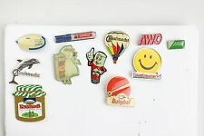 Nr.24- 11 verschiedene Pins Konvolut Anstecknadeln Werbung Sammler