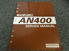 suzuki an650 burgman 1998 2008 service repair manual