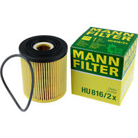 Original MANN-FILTER Ölfilter Oelfilter HU 816/2 x Oil Filter
