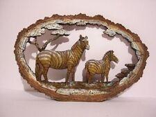 NEUF 30 cm Zebra Relief Animal Animal IMAGE pour poser superecht