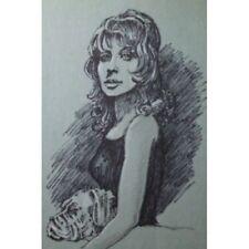 Outsider Art Original Portrait Art Drawings