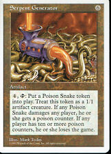 MAGIC THE GATHERING 5TH EDITION ARTIFACT SERPENT GENERATOR