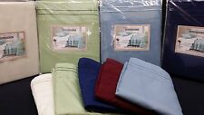 1800 Thread Count 6Pc California King Waterbed Sheet Set W/ Pockets + Poles�