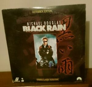 Black Rain Laserdisc Michael Douglas/Garcia 2 Disc Set-Paramount 1989-LV32220-2L