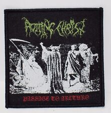rotting christ passage to arcturo    WOVEN  PATCH