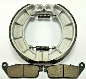 FORHONDA SHADOW ACE 750 Deluxe VT750CD 2002-2003 BONDED FRONT PADS/BRAKE SHOES